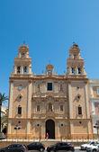 Huelva Cathedral. Andalucia, Spain — Stock Photo
