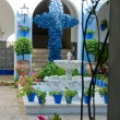 Typical andalusian patio in Cordoba, Andalusia, Spain. — Stock Photo #50955983