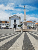 Praca Marques de Pombal. Vila Real de Santo Antonio, Algarve. Portugal. — Stock Photo