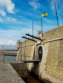 Ponta da Bandeira Fort. Lagos, Algarve. Portugal. — Stock Photo