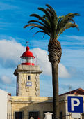Ponta de Piedade Lighthouse. Lagos, Algarve. Portugal. — Stock Photo