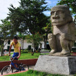 Stock Photo: Main Square in SAN AGUSTIN- Colombia