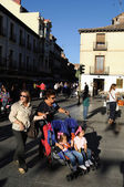 Quixote Market . ALCALa DE HENARES — Stock Photo