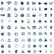 Universal icons — Stock Vector #35490759