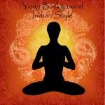 Yoga and meditation background — Stock Photo
