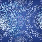 Horoscope circles seamless texture — Stock Photo