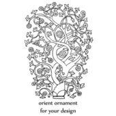 Vector orient decorative element — Stock Photo
