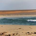 Skeleton coast in namibia — Stock Photo #43317121