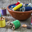 Royalty-Free Stock Photo: Sewing supplies