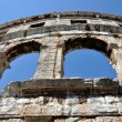 Roman amphitheater, colosseum in Pula, Croatia — Stock Photo #12360593