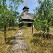 Barsana orthodox wooden monastery - Stock Photo