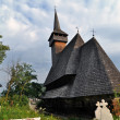 Botiza orthodox wooden monastery - Stock Photo