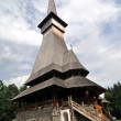 Ieud orthodox wooden monastery - Stock Photo