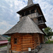Rozavlea orthodox wooden monastery - Stock Photo