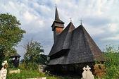Botiza ortodoxní dřevěný klášter — Stock fotografie