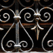 Wrought iron lattice — Stock Photo