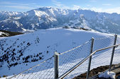 Ski slopes in Tirol — Stock Photo