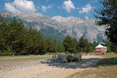 Theth, Prokletije mountains, Albania — Stock Photo