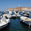 Rovinj harbour, Croatia — Stock Photo