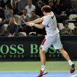 Davis Cup 2013, Romania wins against Denmark, final score 3:0 — Stock Photo