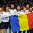 The tennis team of Romania — Stock Photo #19734533