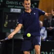 Davis Cup, Romania wins against Denmark — ストック写真