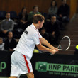 Davis Cup, Romania wins against Denmark - Foto de Stock