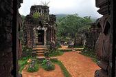 Temple de mon fils - duy xuyen, quang nam, vietnam — Photo