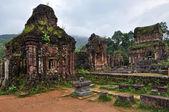Il mio tempio induista di shiva son, quang nam, vietnam — Foto Stock