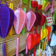 Foto de Stock  : Silk lanterns in Hoi An, Vietnam