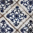 Antique ceramic stove tiles — Stock Photo #26733791