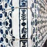 Antique ceramic stove tiles — Stock Photo #26872391