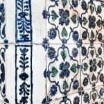 Antique ceramic stove tiles — Stock Photo #26872397