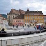 The council square in Brasov, Romania — Stock Photo #26872399