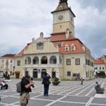The council square in Brasov, Romania — Stock Photo