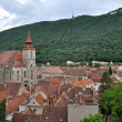 The Black church, the oldest gothic monument in Brasov, Romania — Stock Photo #26872425