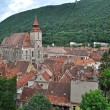 The Black church, the oldest gothic monument in Brasov, Romania — Stock Photo