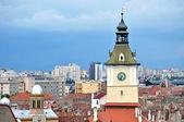 Borgmästarens hus tower i brasov, Rumänien — Stockfoto