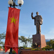 Statue of Vietnam's revered leader Ho Chi Minh — Stock Photo