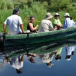 Boat trip in the Danube delta, Romania — Stock Photo