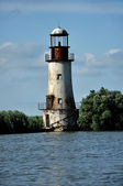 The old, abandoned lighthouse of Sulina, Danube delta — Stock Photo