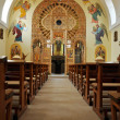 Orthodox church interior. Cluj Napoca, Romania — Stock Photo