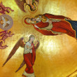 Murals in an orthodox church — Stock Photo