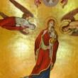 Murals in an orthodox church — Foto de Stock