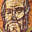 Byzantine mosaic of a saint apostle — Stock Photo #30144559