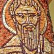 Byzantine mosaic of a saint apostle — Stock Photo #30144561