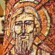 Byzantine mosaic of a saint apostle — Stock Photo #30144563