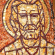 Byzantine mosaic of a saint apostle — Stock Photo #30144577