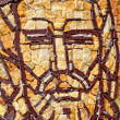 Byzantine mosaic of a saint apostle — Stock Photo
