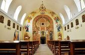 Orthodox church interior. Cluj Napoca, Romania — Stock Photo